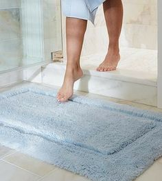 Our Nonskid Resort Bath Rugs provide cloud-like softness as you step out of the shower.