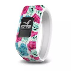 Activity Tracker For Kids Real Flower Garmin - vivofit jr. Activity Tracker For Kids - Real Flower - Angle_ZoomGarmin - vivofit jr. Activity Tracker For Kids - Real Flower - Angle_Zoom Fitness Activity Tracker, Fitness Activities, Fitness Tracker, Activities For Kids, Application Mobile, Thing 1, Exercise For Kids, Cool Things To Buy, Stuff To Buy