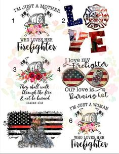 Waterslide Images Firefighter EMS Ref Line Waterslide \ laser printed / laser decals / tumbler supplies \ yeti decal Inspiration Art, Art Inspo, Vinyl Projects, Craft Projects, Glitter Cups, Silhouette Cameo Projects, Firemen, Firefighters, Custom Tumblers