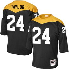 Pittsburgh Steelers Ike Taylor Men s Elite Black Nike Jersey -  24 NFL Home  1967 Throwback 46f8e166f