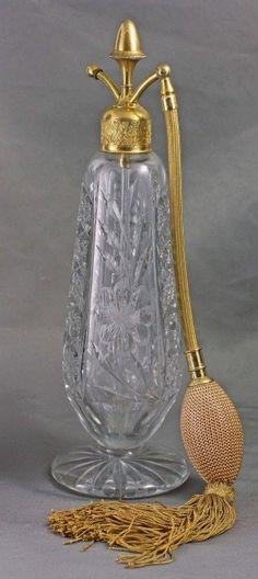 DeVilbiss Art Deco Perfume Atomizer, 1921