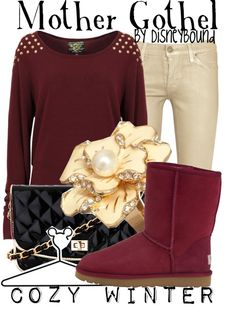 """""""Mother Gothel"""" by lalakay ❤ liked on Polyvore"""
