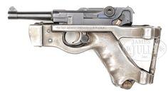 Resultado de imagem para Benke Thiemann Folding Luger Stock