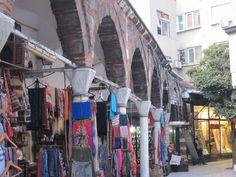 Off the Grand Bazaar main area. Istanbul, Turkey.