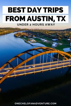 Best Austin Day Trips Under 2 Hours // Best Day Trips from Austin TX // Austin Day Trips // Hill Country Day Trip Ideas // Central Texas Day Trips Usa Travel Guide, Travel Usa, Travel Tips, Budget Travel, Travel Guides, Texas Travel, California Travel, Bastrop State Park, Places In Usa