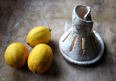 Raku ceramic candle holder white by LeTerreDellaTorre on Etsy