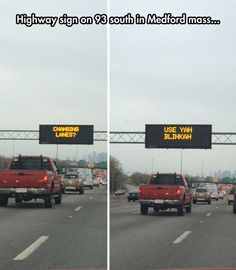 That has also been on every highway sign in RI lately : )
