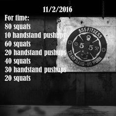 555 fitness: squats and hspus