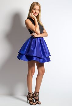 Tier Party Dress #ca
