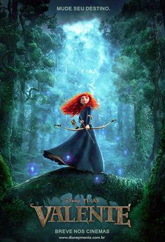 Valente   Artes conceituais e vídeos dos bastidores do filme da Pixar   Disney Mania
