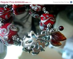 Happy Holidays SALE.... One of a Kind Sterling by bijoullery