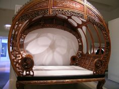 Chinese beds The Commons Getty Collection Galleries World Map App . Victorian Furniture, Funky Furniture, Unique Furniture, Vintage Furniture, Furniture Decor, Furniture Design, Art Nouveau Furniture, Chinese Furniture, Asian Decor