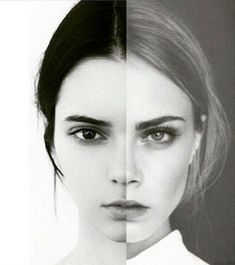 Cendall and Kara (Kendall Jenner and Cara Delevingne) - and how they're merging into one another
