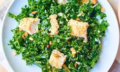 Kale-Salad-Baked-Almond-Chicken-Above