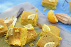 Botox Baking This sticky citrus cake is practically belching with age-defying vitamins like E, C and plant-based calcium. Its fantastical glow comes from a spice called turmeric, more recently refe...