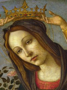 "dominusvenustas: "" A beautiful face from the Renaissance. Painted in Florence within the wider circle of Botticelli. Typical of that time, the expression is serene, sincere and just heavenly. """