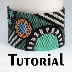 TUTORIAL Rio Grande Peyote Cuff | Mikki Ferrugiaro Designs