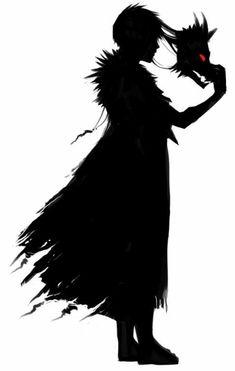 Evil Anime, Dark Anime, Anime Demon, Dark Art Illustrations, Illustration Art, Fantasy Character Design, Character Art, Dark Creatures, Dark Drawings