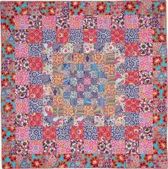 PERSIAN from Kaffe Fassett's Quilts en Provence - this is the pattern of my first ever quilt!!!!