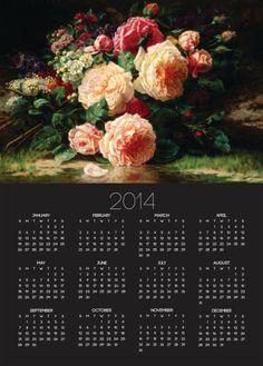 June Days Poster Calendar.
