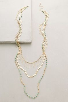Turquoise Sabbatical Necklace - anthropologie.com #anthroregistry