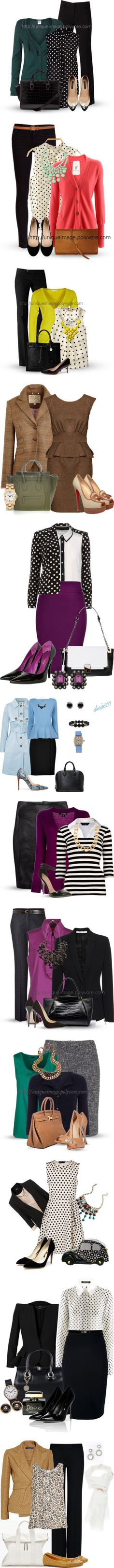 """Outfits par ir a trabajar II"" by guisella-infantes on Polyvore"