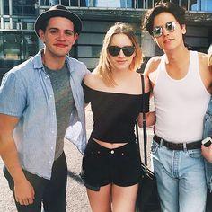 Cole, Casey &  a model friend