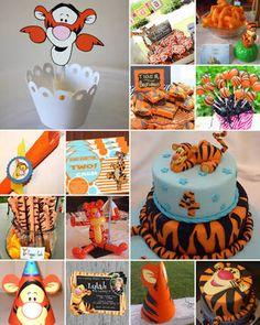 Resultado de imagen para tigger themed birthday party