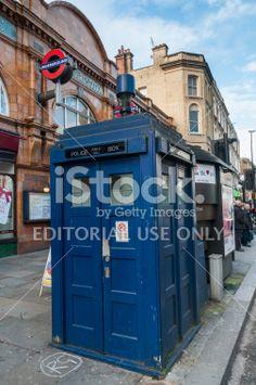 The last Tardis in London Royalty Free Stock Photo