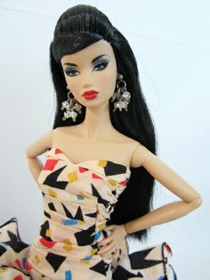 Poppy Parker for Sale | Design Dress Outfit Gown Poppy Parker Silkstone Barbie Fashion Royalty ...