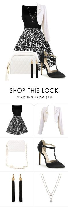 """Night out 2"" by kweencupcake08 on Polyvore featuring Chanel, Charlotte Russe and Yves Saint Laurent"