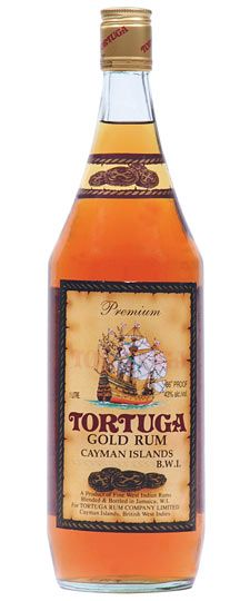 Tortuga Gold Cayman Islands Rum 750ml