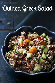 Quinoa Greek Salad u