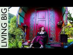 Living a Free and Artistic Life in a Magical Gypsy Vardo Style Caravan - YouTube
