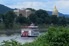 Charleston, West Virginia by Val Baldwin Carnell