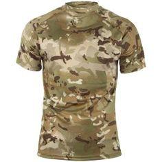 Viper Mesh-tech T-Shirt Quick Dry Sport Hiking Outdoor Hunting V-Cam Black Camo
