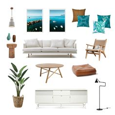 This coastal design draws inspiration from the Australian coast, taking all the classic elements of a beach interior and giving it a contemporary twist. Modern Coastal, Coastal Living, Coastal Decor, Coastal Style, Nautical Nursery Decor, Decoration Inspiration, Beach House Decor, Home Decor, Girl House
