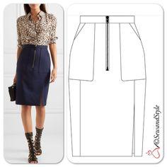 Business Mode - Alturzarra - #fashion #sewing #illustration #technicaldrawing #flatdesign #love #sketch #sketching…