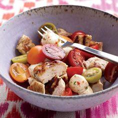 Chicken Caprese Salad // More Salads with Chicken: http://preview.foodandwine.com/slideshows/salads-with-chicken #foodandwine