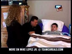 Meet Mike Lopez Jr. President & Founder of T.E.A.M. Cure ALS Foundation Founded in 1998  Mike Lopez Jr. is a 16 Year ALS Survivor and continues his Fight for Life EVERYDAY!