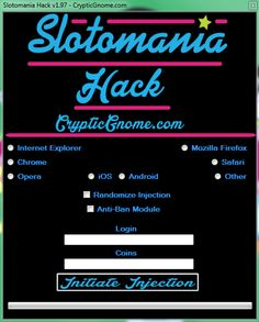 additional sos slotomania cheats for iphone