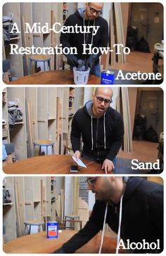 Restore wood with these simple steps.