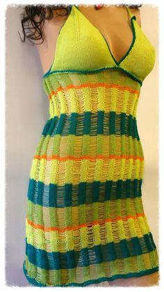 Freedom machine knited dress