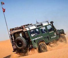 Land Rover Defender 110 Td5 4x4 desert
