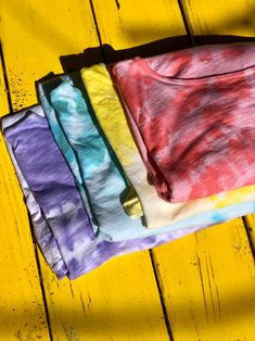 These are Made In LA, hand dyed, elbow length sleeves that are perfect for Pride Month! Get them while they last, as we have a limited quantity!  #MadeInLA #TieDye #Tees #OriEverday #Comfy #Pride Plus Size Tees, Classic Wardrobe, Perfect Woman, Tie Dye Skirt, Shirt Designs, Pride, Comfy, Sleeves, Cotton