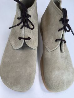 7c0241e939a 1970 s SaNdY Suede Chukka boots NeW ViNtAgE Stock by mightyMODERN Suede  Chukka Boots