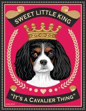 Cavalier King Charles Spaniel - Sweet King - 8x10 Art Print - Cute!!!