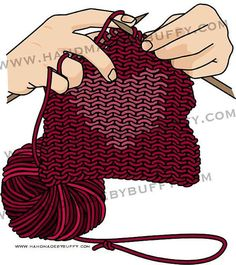Knitting with Heart