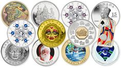 Latest 2008 Royal Canadian Mint offerings include Chinese Lunar Zodiac hologram gold and cameo silver coins, silver and gold Moon Mask coins, Vignettes of Royalty (King George V) silver coins, silv…