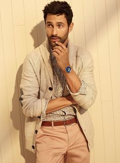 Noah Mills for Simons SS 2017 Amalfi LookBook